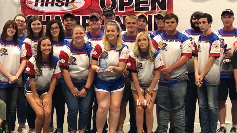 Archery Team Champion In Opens Tournament in Nashville