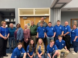 Board Recognizes LCMHS Bowling Team