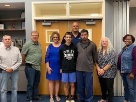 Board Recognizes Zach Watterson as Regional Golf Champion