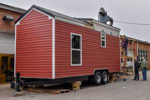 Lee County ATC Builds Tiny House