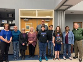 Board Recognizes LCMHS MathCounts Team