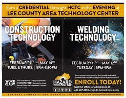 Hazard Community and Technical Classes at Lee County Area Tech Center